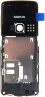 Nokia 6300 Mittelgehäuse schwarz (6300i 6301)
