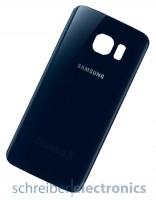 Samsung G925 Galaxy S6 edge Akkudeckel / Rückseite schwarz