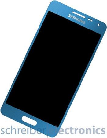 Samsung G850 Display-Einheit + Touchscreen blau