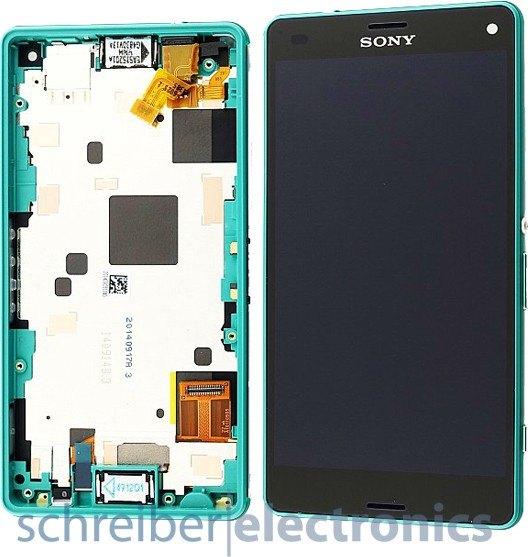 Sony Xperia Z3 compact Display-Einheit grün