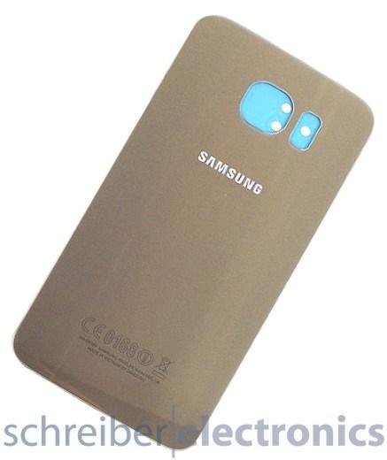 Samsung G920 Akkudeckel / Rückseite gold