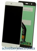 Huawei P10 Lite Display Einheit ohne Rahmen weiss
