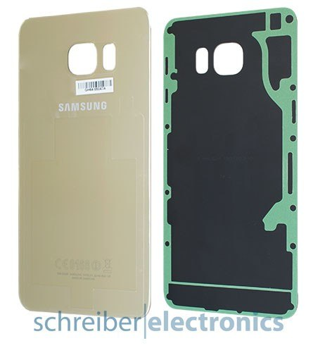 Samsung G928 Galaxy S6 edge+ plus Akkudeckel gold