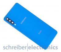 Samsung A750 Galaxy A7 (2018) DUOS Akkudeckel (Rückseite) blau