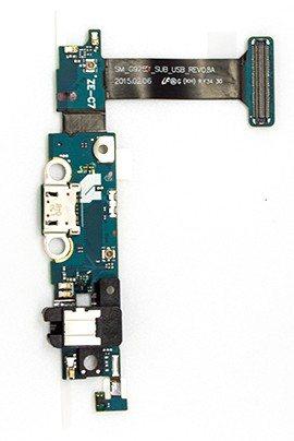 Samsung G925 Flexkabel Mikro USB Anschluss / Audio