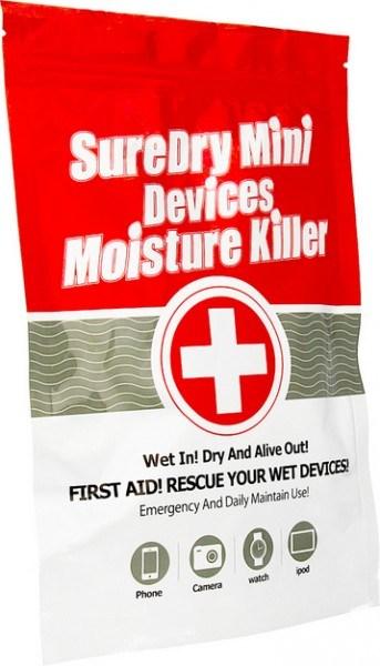 Wasser Rescue Kit (Rettungsetui) bei Wasserschaden
