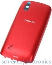 Nokia Asha 300 Akkudeckel / Rückseite rot