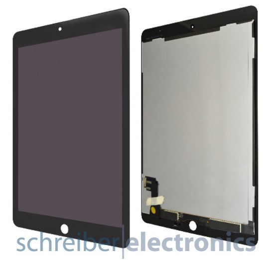 iPad Air 2 Display Einheit schwarz