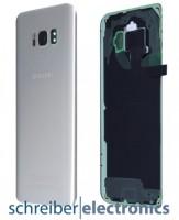 Samsung G950F Galaxy S8 Akkudeckel / Rückseite silber