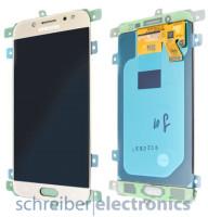 Samsung J530F Galaxy J5 (2017) Display mit Touchscreen gold