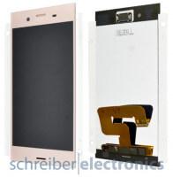 Sony Xperia XZ1 Display mit Touchscreen rosa