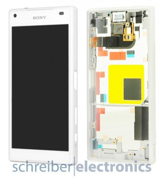 Sony Xperia Z5 compact Display Einheit weiß