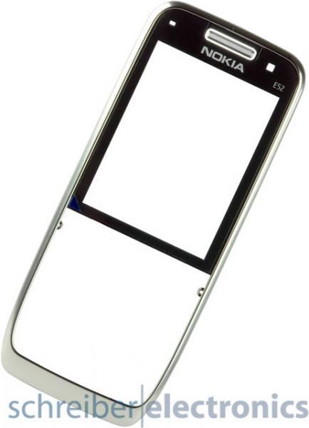 Nokia E52 Cover (Frontcover / Oberschale) metal al