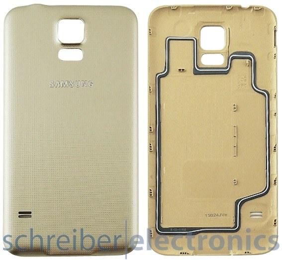Samsung G903 Galaxy S5 Neo Akkudeckel gold