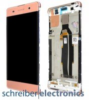 Sony Xperia XA (F3111) Display Einheit rose gold