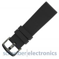 Samsung R600 Gear Sport Armband einteilig / Dornverschluss Seite schwarz