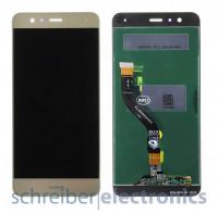 Huawei P10 Lite Display ohne Rahmen gold