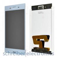 Sony Xperia XZ1 Display mit Touchscreen blau