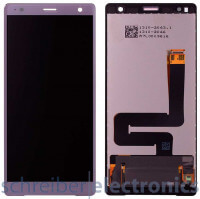 Sony Xperia XZ2 Display mit Touchscreen pink