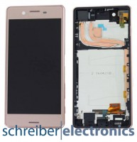 Sony Xperia X Performance (F8131) Display mit Touchscreen Rosa