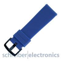 Samsung R600 Gear Sport Armband einteilig / Dornverschluss Seite blau