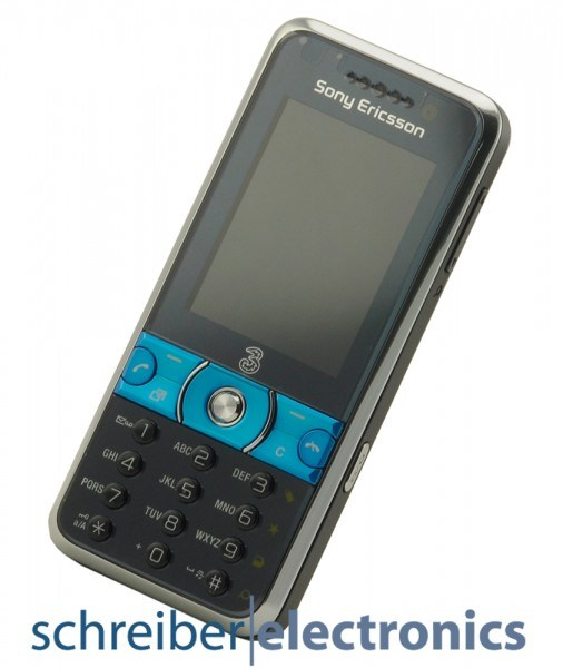 Sony Ericsson K660i Handy blau schwarz