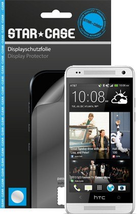 Display Schutzfolie StarCase Clear HTC One mini M4