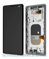Sony Xperia XZ3 Display mit Touchscreen Weiss