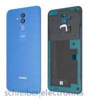 Huawei Mate 20 lite Akkudeckel (Rückseite) blau Fingerprint