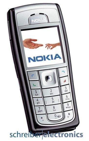 Nokia 6230i Handy schwarz silber - wie Neu