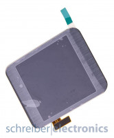Samsung R380 Gear 2 Display mit Touchscreen dunkel grau