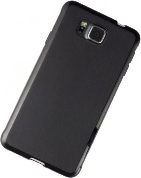 Galaxy Note 3 neo Silikon-Tasche / Hülle schwarz