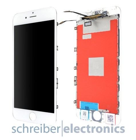 iPhone 6S Display Einheit mit Touchscreen weiss