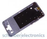 Huawei P20 / Dual Display Montagerahmen (Halterung) blau