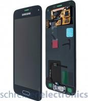 Samsung G800 Galaxy S5 mini Display mit Touchscreen schwarz