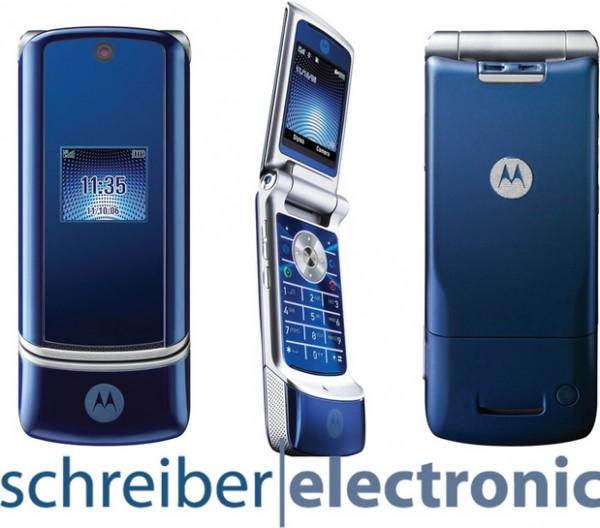 Motorola K1 Handy KRZR MOTOKRZR - Neu