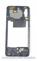 Samsung A705 Galaxy A70 Mittelgehäuse (Rahmen) schwarz