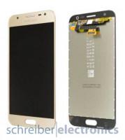 Samsung J330 Galaxy J3 (2017) Display mit Touchscreen gold