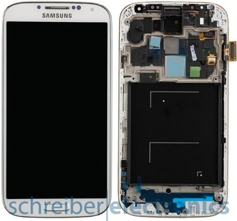 Samsung i9505 Galaxy S4 Display, Touchscreen weiss