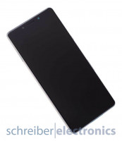 Sony Xperia L3 (Dual) Display mit Touchscreen silber