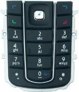 Nokia 6230/6230i Tastatur (Tastenmatte) schwarz