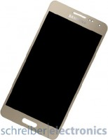 Samsung G850 Galaxy Alpha Display mit Touchscreen gold