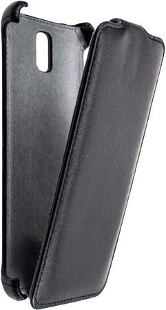 Star-Case Galaxy Note 3 leder Klapp-Tasche schwarz