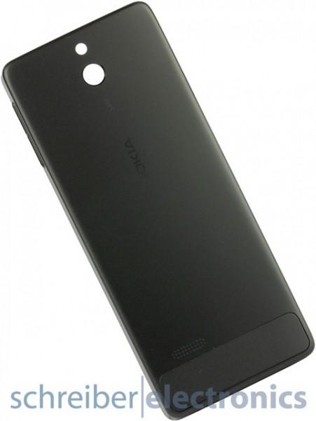 Nokia 515 Akkudeckel / Rückteil schwarz