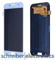 Samsung A520 Galaxy A5 (2017) Display mit Touchscreen blau