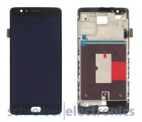OnePlus 3 / 3T Display mit Touchscreen schwarz