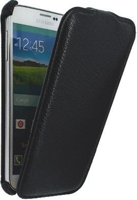 Star-Case Galaxy S5 Neo leder Klapp-Tasche Linea black