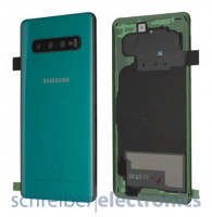Samsung G973 Galaxy S10 Akkudeckel (Rückseite) Prism grün