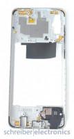 Samsung A705 Galaxy A70 Mittelgehäuse (Rahmen) weiss