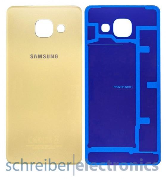 Samsung A310 Galaxy A3 (2016) Akkudeckel gold